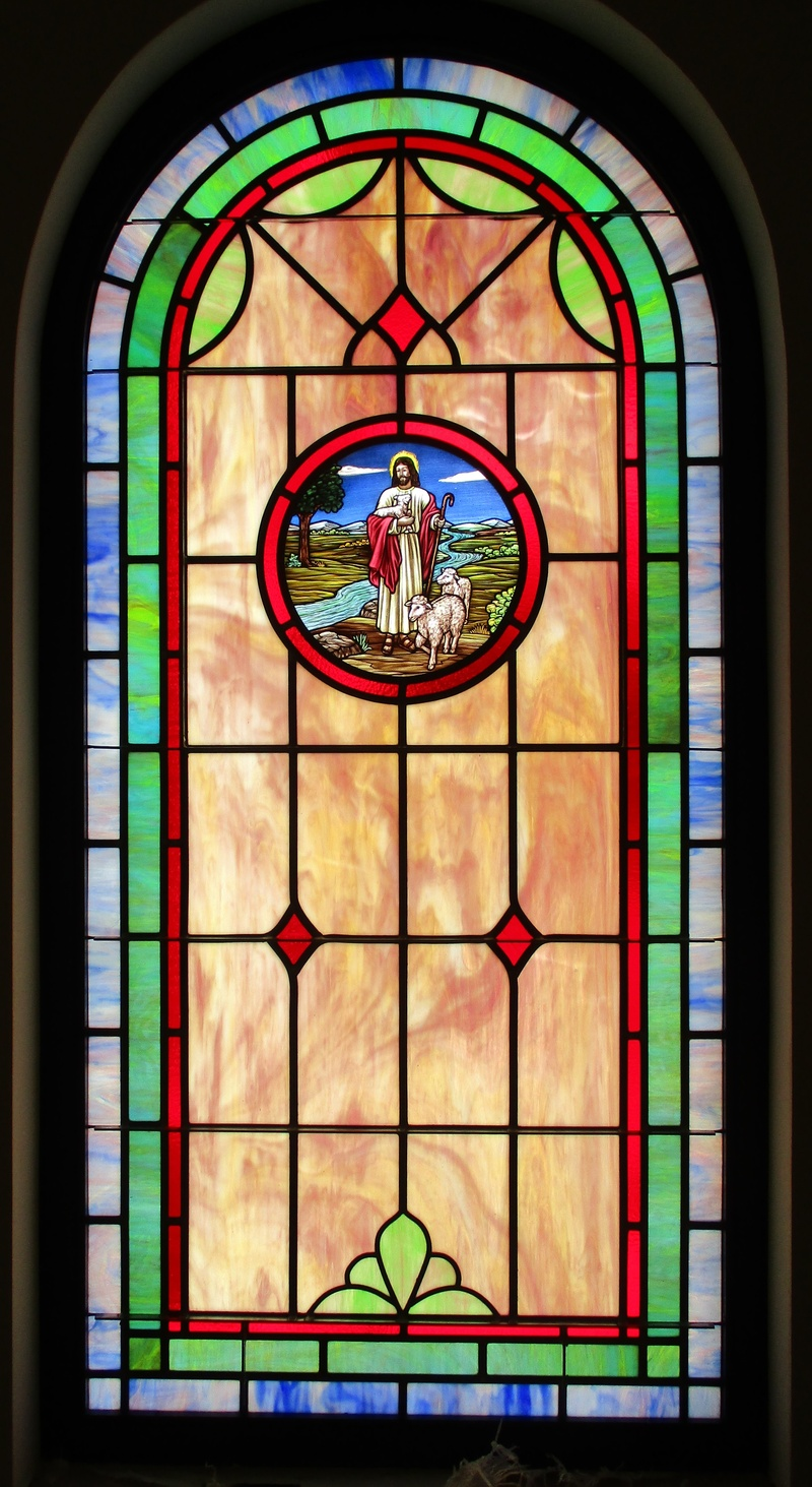 Church stained glass windows laws stained glass studios for 20 40 window missions