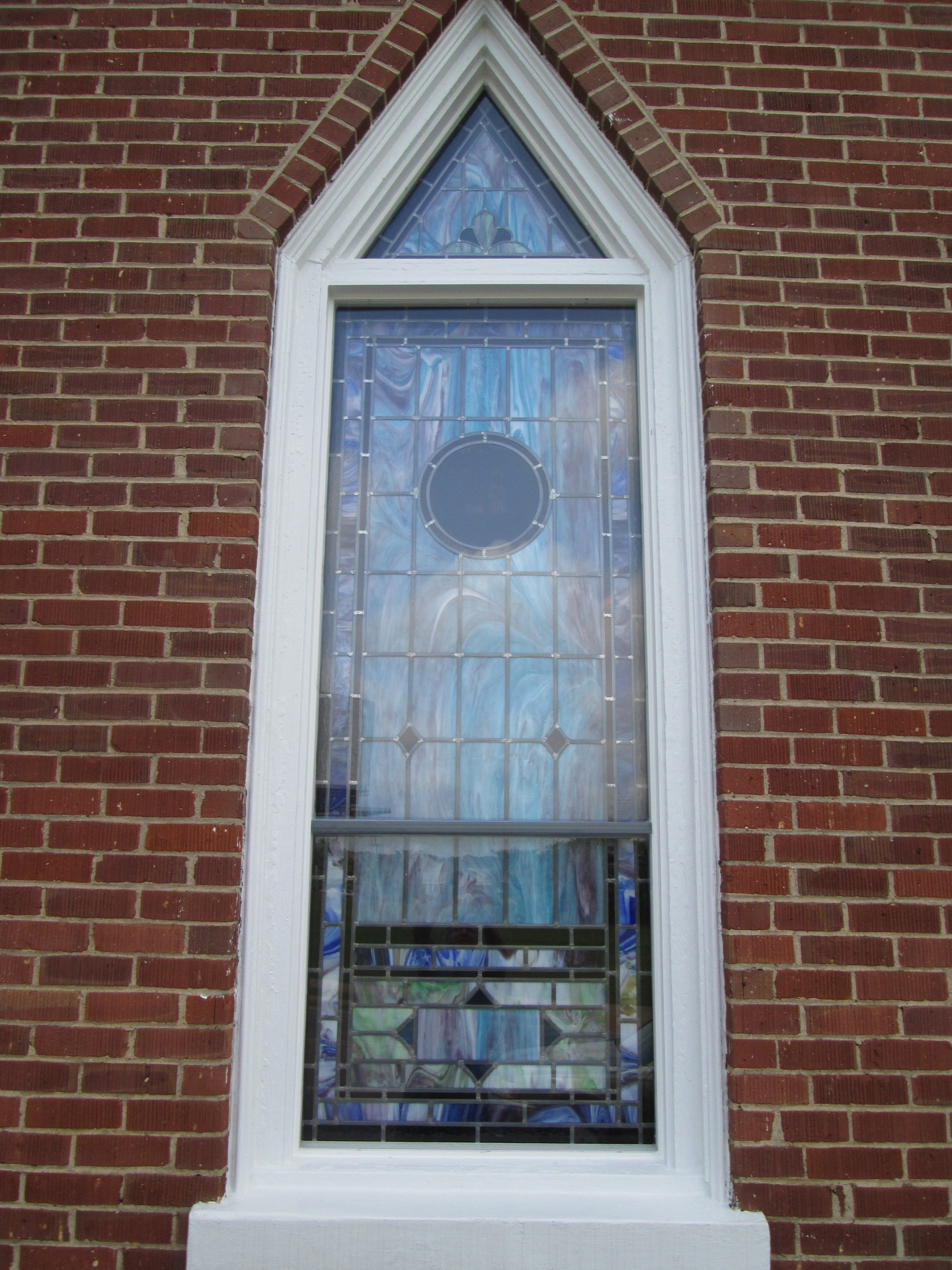 Stained Glass Windows at New Bethel Independent Church in Forest ...